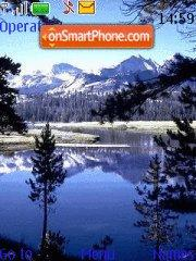 Mountain Landscape theme screenshot