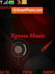 Xpress Music New theme screenshot