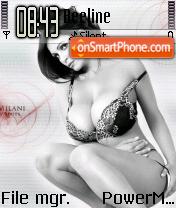 Denise Milani 12 es el tema de pantalla