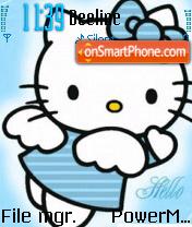 Скриншот темы Hello Kitty Fairy