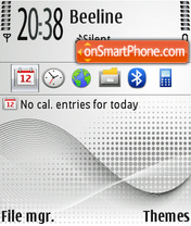 Technology 01 theme screenshot