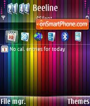 Spektr theme screenshot