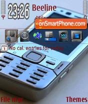 Capture d'écran N-Series82 thème