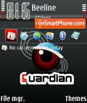 Guardian theme screenshot