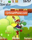 Mario Theme es el tema de pantalla