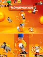 Fanta tema screenshot