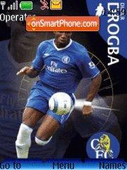 Didier Drogba tema screenshot