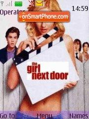 The girl next door theme screenshot