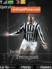 David Trezeguet theme screenshot