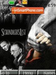 Schindlers list es el tema de pantalla