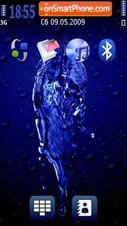 Water 09 es el tema de pantalla