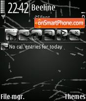 Скриншот темы TracceNere