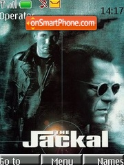 The jakal theme screenshot