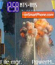 In Memoriam Twins Towers theme screenshot
