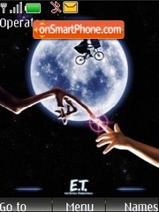 E.T. the Extra-Terrestrial tema screenshot
