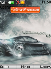 Mercedes Benz tema screenshot