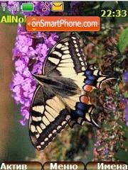Butterfly theme screenshot
