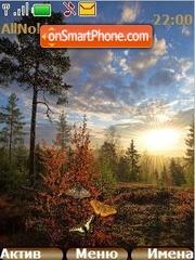 Morning Landscape tema screenshot