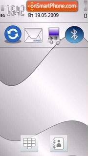 Silver Touch es el tema de pantalla