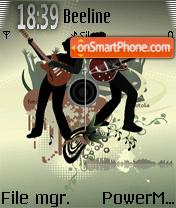 Abstract Music 01 es el tema de pantalla