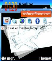 Fly Up theme screenshot