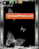 Black Butterfly theme screenshot