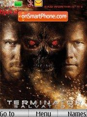 Terminator 4 theme screenshot