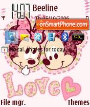 Love MK theme screenshot