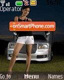Chrysler Girl theme screenshot