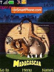 Capture d'écran Madagascar thème
