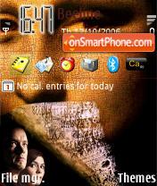 The Da Vinci Code theme screenshot