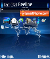 World 05 theme screenshot