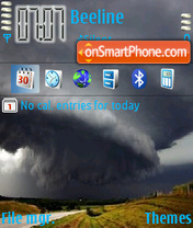 Tornado 01 theme screenshot