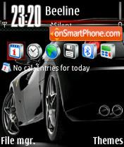 Скриншот темы Ferrari v2 01