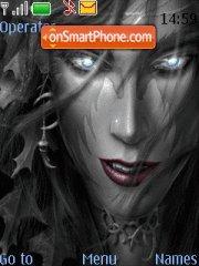 Darkness tema screenshot