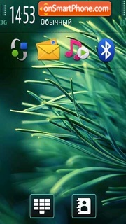 Pine theme screenshot