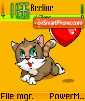 Kitty Love es el tema de pantalla