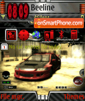 Nfs most wanted 06 theme screenshot
