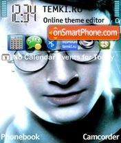 Harry Potter 20 theme screenshot