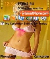 Hot Blonde 06 es el tema de pantalla
