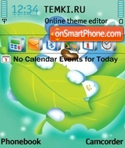 Blue Bear 01 theme screenshot