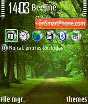 Green Nature 02 theme screenshot