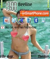 Скриншот темы Sexy Alba
