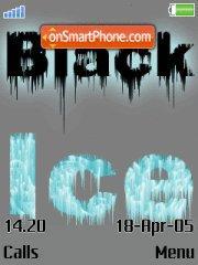 Black Ice theme screenshot