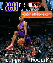 Vince Carter theme screenshot