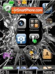 Broken Iphone theme screenshot