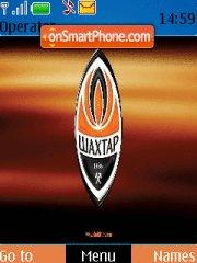Shakhtar Donetsk theme screenshot