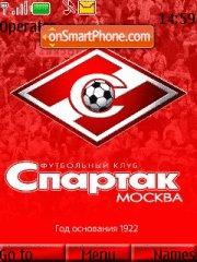 Spartak Moskow theme screenshot