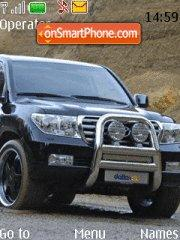 Land Cruiser 200 tema screenshot