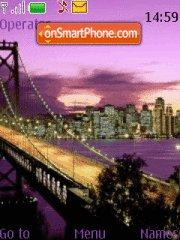City tema screenshot